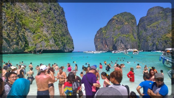 Busy Kho Phi Phi Ley Thailand