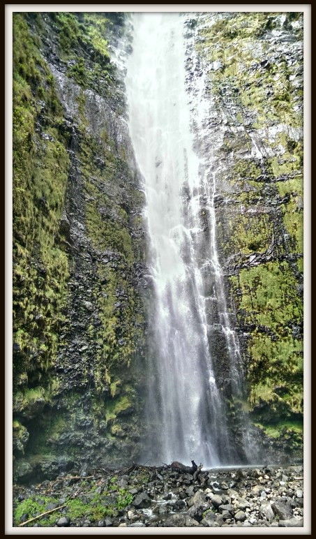 Hike back to this amazing waterfall on the Road to Hana.