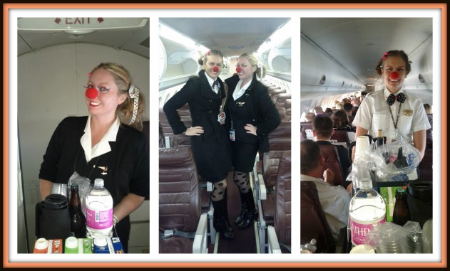 Flight Attendants celebrate Halloween in the Air