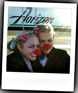 Flight Attendants celebrate Halloween