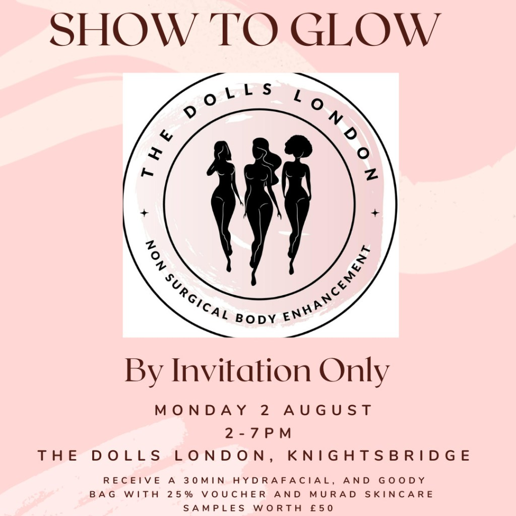 Show to Glow Beauty, Knightsbridge: exclusive treatments with goody bag