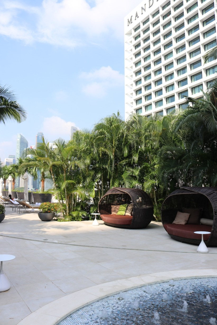 Outdoor relaxation area