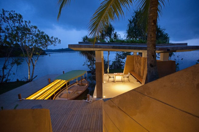 Boat Jetty - Picture by resort