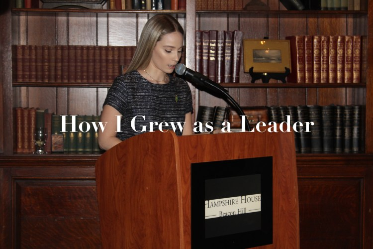 How I Grew as a Leader