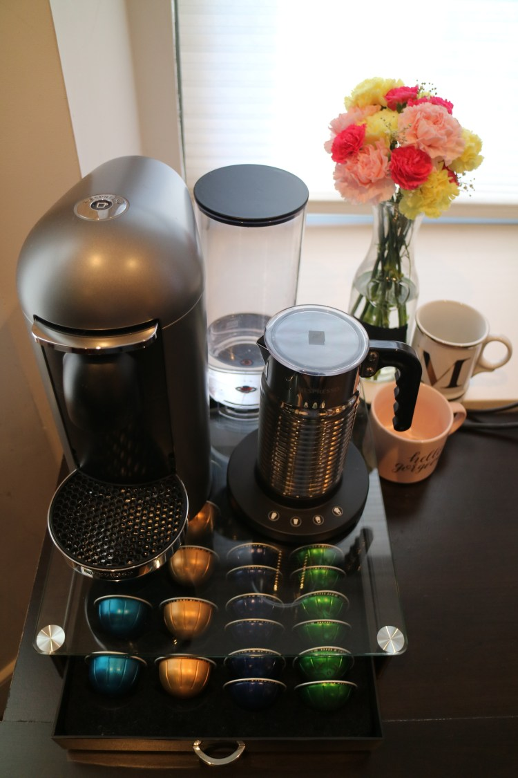 nespresso set up overview