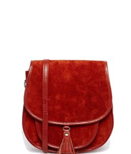 ASOS 70s Suede Shoulder Bag