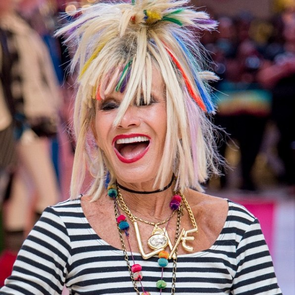 LUX Magazine betsyjohnson My Icon great influence over the trends we follow