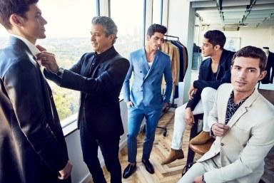 LUX Magazine Jeffrey-Rudes-suits Own style Inspiration    Barnette Holston's Top Picks
