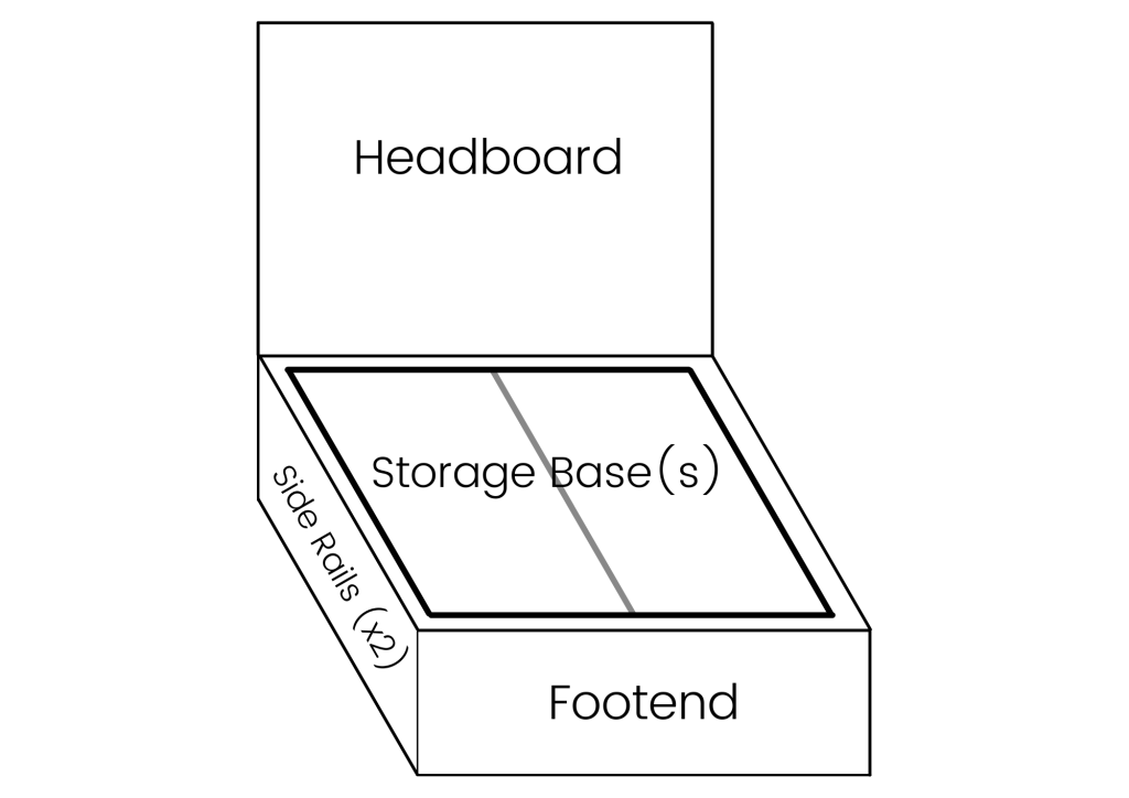 Gas Lift Storage Bed