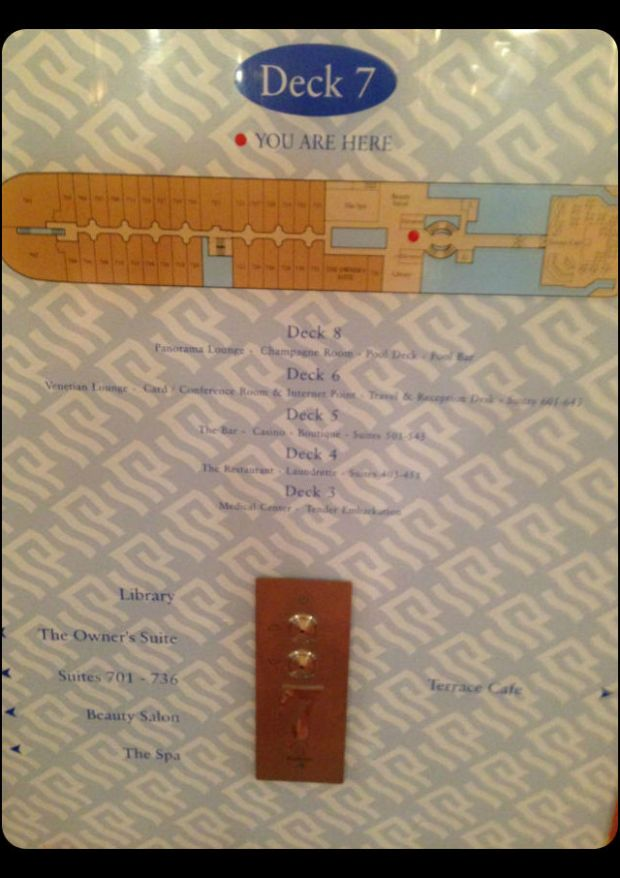 Silver Cloud ship layout