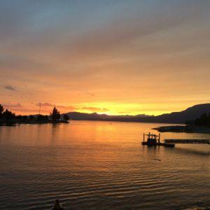 Sunset on English Bay - Vancouver