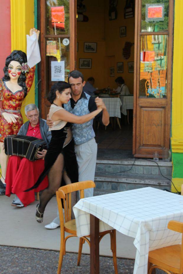 Buenos Aires Tango in a Boca 1