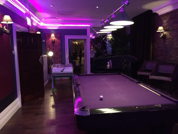 Tattinger Sports Lounge at Seaham Hall Hotel