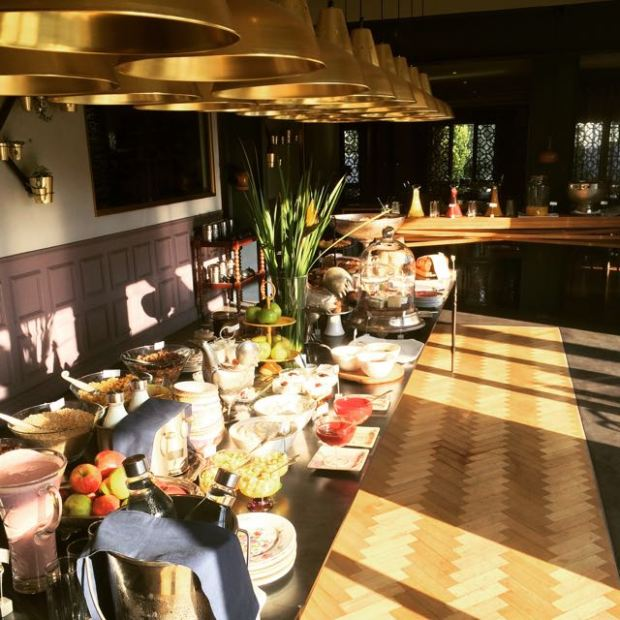 Majeka House Breakfast Buffet