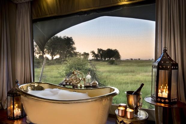 Duba Plains Camp, Botswana