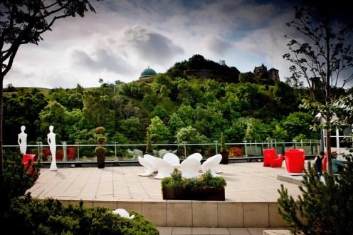 ROOF GARDEN - Terrace & Calton Hill (2)