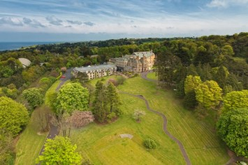 Aerial view Culloden Hotel Co Down