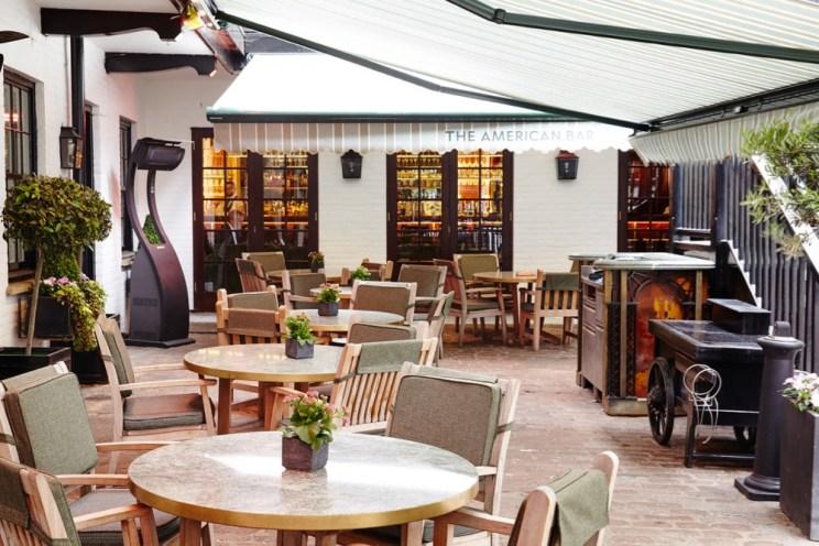 The Stafford London - Courtyard 19