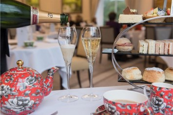 Champagne Afternoon Tea in the Mulberry