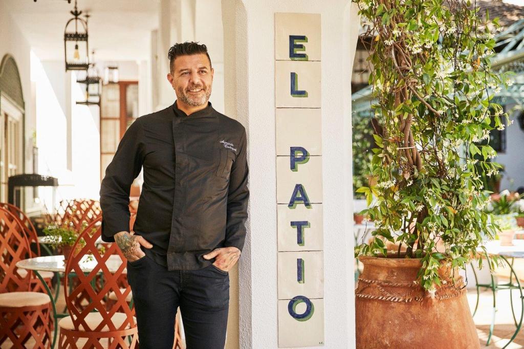 El Patio Marbella Club Restaurant Spain 8
