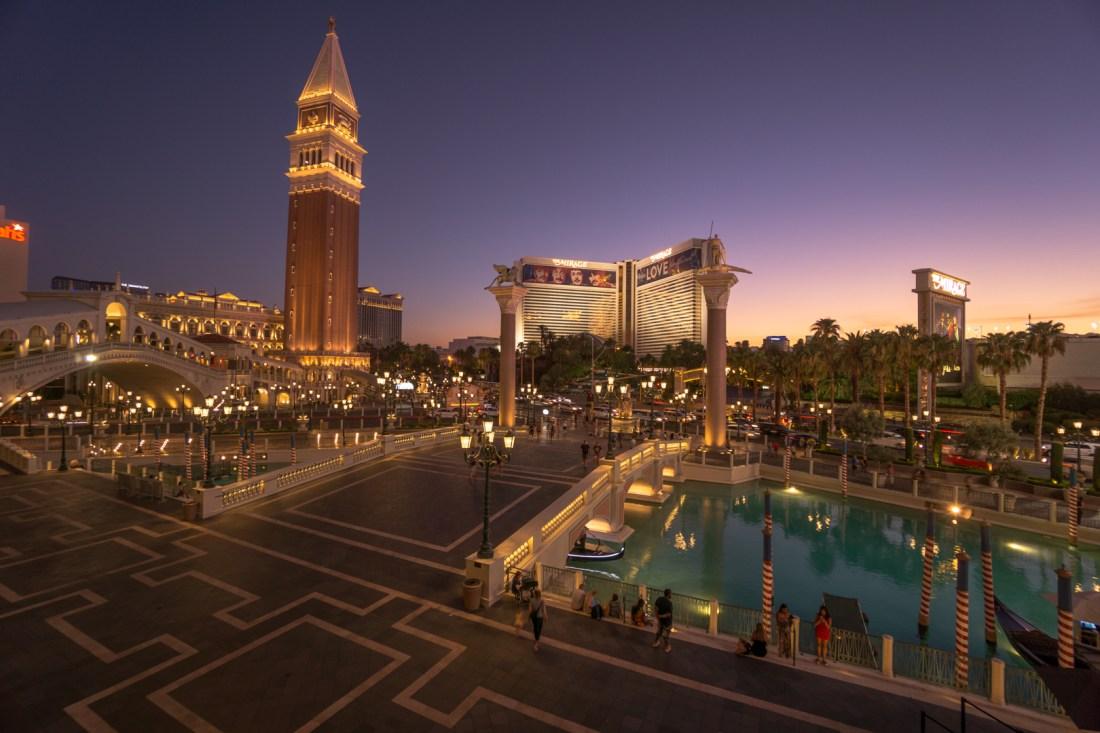 Venetian Hotel Las Vegas Canals