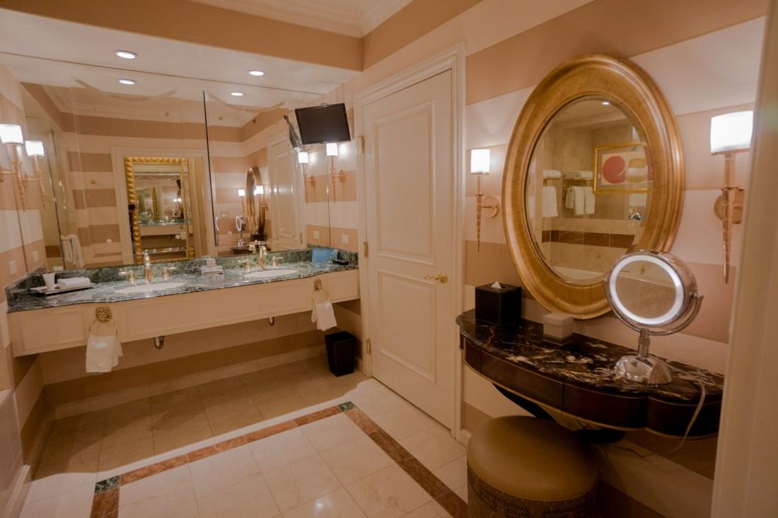 Venetian Hotel Essential Workers Offer Bathroom