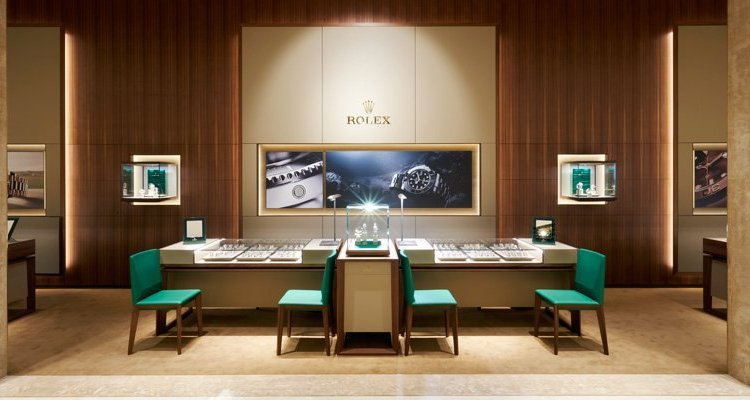 Rolex store Dubai mall