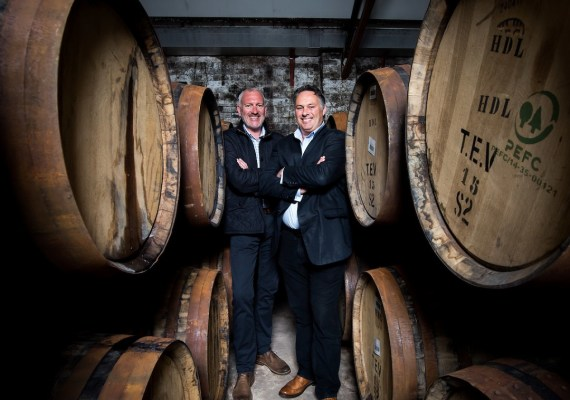 Andy Simpson and David Robertson, co-founders, Whisky 101
