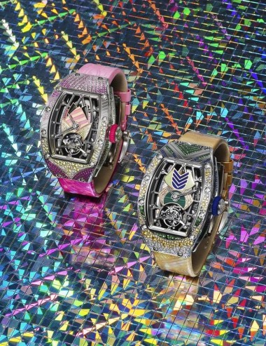 The New Richard Mille Tourbillon Erupts In Coloured Stones