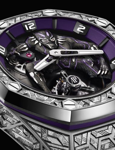 Marvel Collaborates with Audemars Piguet On Black Panther Watch