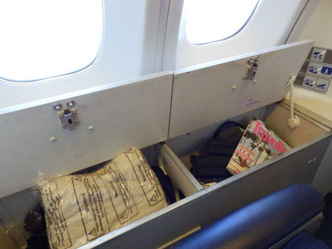 BRITISH AIRWAYS CLUB WORLD EXTRA STORAGE WINDOW SEATS