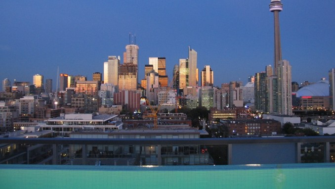 ROOFTOP LOUNGE, THOMPSON HOTEL, TORONTO, CANADA