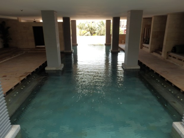 SEMI-INDOOR SWIMMING POOL