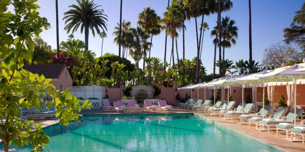 THE BEVERLY HILLS HOTEL, DORCHESTER COLLECTION, LOS ANGELES, USA