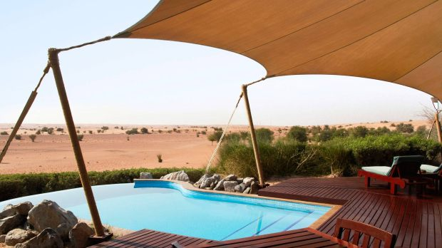 PRIVATE POOL AT BEDOUIN SUITE