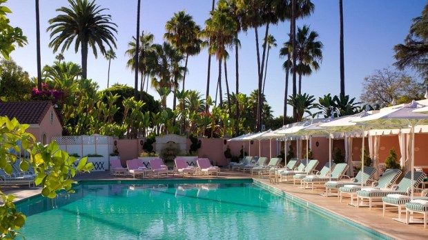 THE BEVERLY HILLS HOTEL, LOS ANGELES, USA