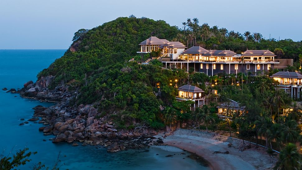 Hotel review banyan tree samui thailand the luxury for Small luxury hotels of the world wiki