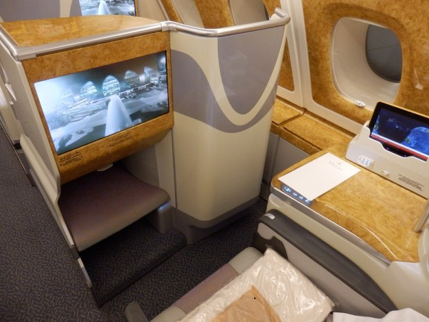 BUSINESS CLASS AISLE SEAT