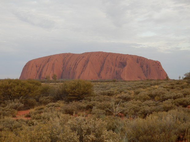 ULURU: CLOUDY SUNSET