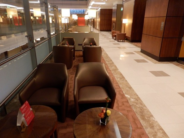 EMIRATES LOUNGE AT DXB