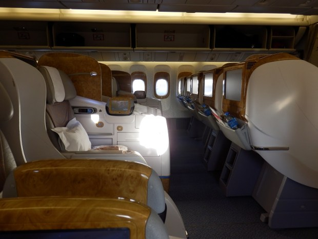 BUSINESS CLASS ROW 9