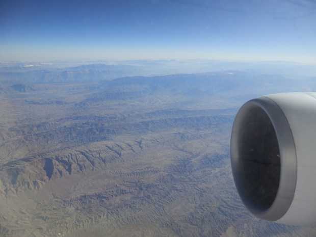 VIEWS: FLYING OVER EASTERN IRAN