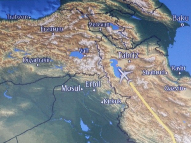 FLIGHT PATH: AVOIDING IRAQI AIRSPACE