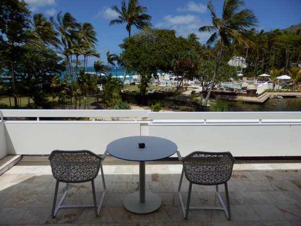 HAYMAN SUITE: VIEW FROM TERRACE