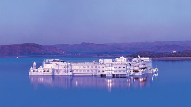 TAJ LAKE PALACE, UDAIPUR, INDIA