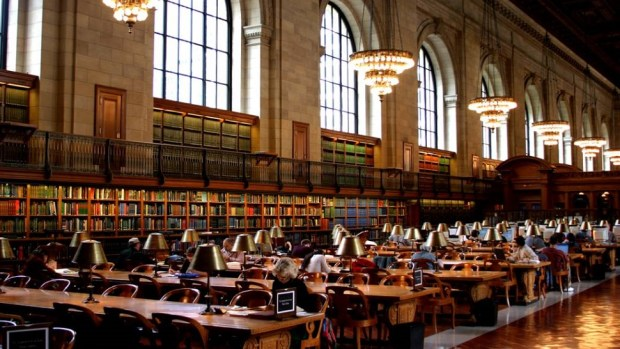 VISIT THE NEW YORK PUBLIC LIBRARY