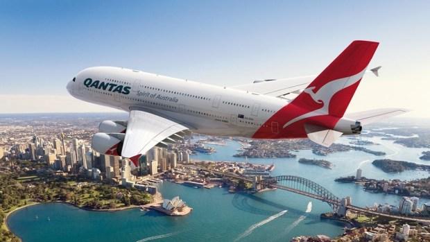 QANTAS AIRWAYS A380