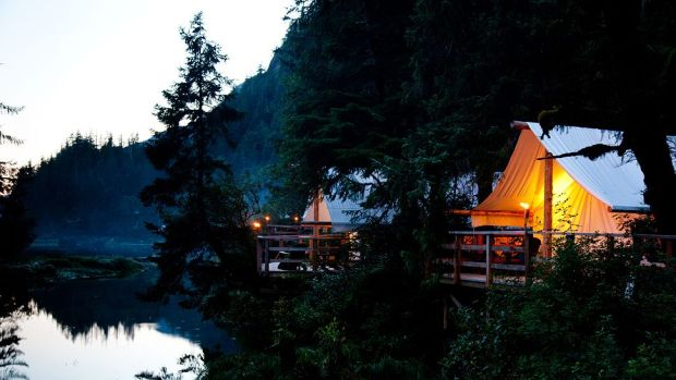CLAYOQUOT WILDERNESS RESORT, VANCOUVER ISLAND, BRITISH COLUMBIA