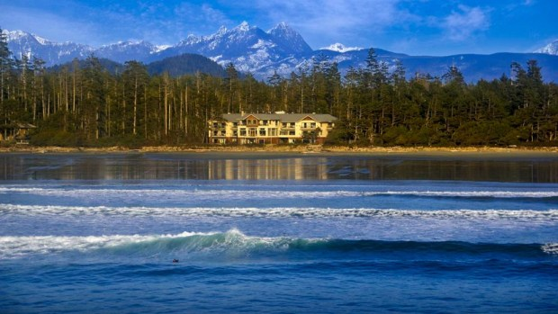 LONG BEACH LODGE RESORT, VANCOUVER ISLAND, BRITISH COLUMBIA