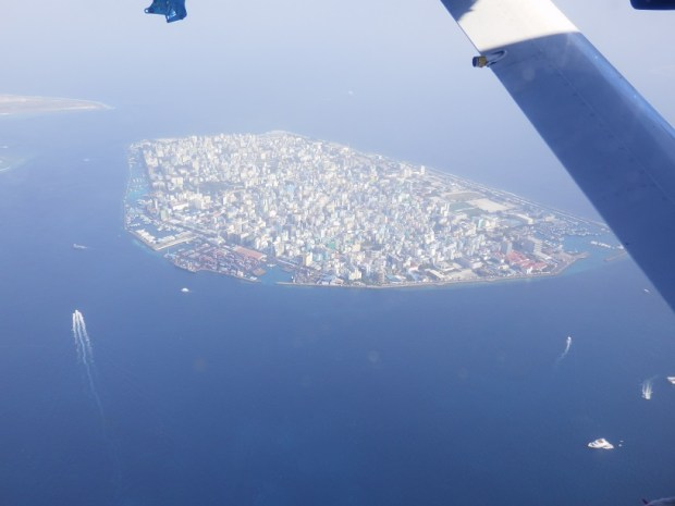 AERIAL VIEW OF THE CAPITAL MALE